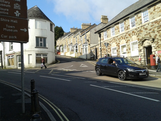 On the B3268 in Bodmin