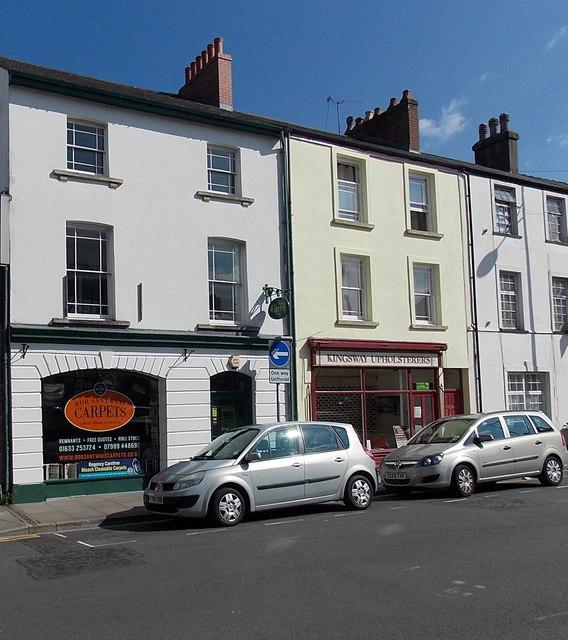 Rob Santwris Carpet Shop in Lower Dock Street, Newport