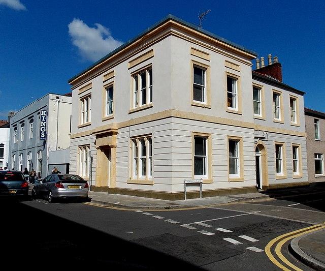 Corner of Powells Place and Lower Dock Street, Newport