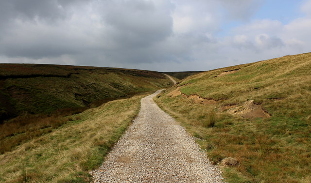 Shooting Track on Stean Moor