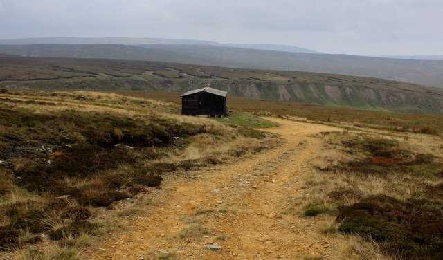 Shooting Hut on Stean Moor (1)