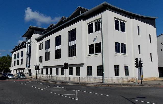 Office building in Lower Dock Street, Newport