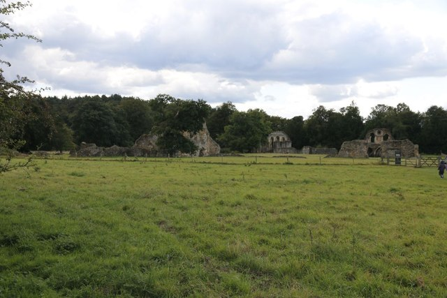 Remains of Waverley Abbey