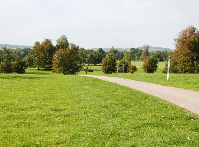 Firle Place estate/gardens