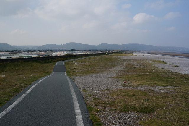 Wales  Coast Path at Towyn