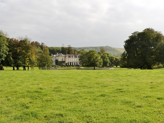 Firle Place from the Northeast