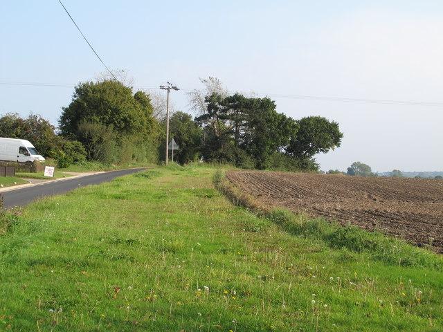 Arable land near Langford Road, Wickham Bishops