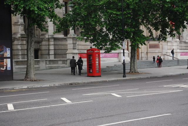 Telephone Kiosk, outside the V & A