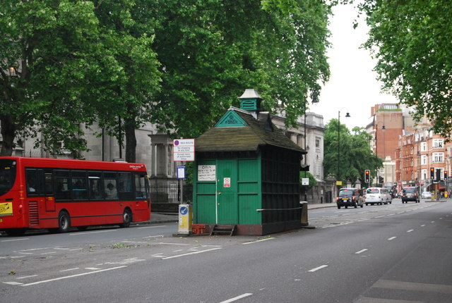 Cabman's Shelter, Thurloe Place