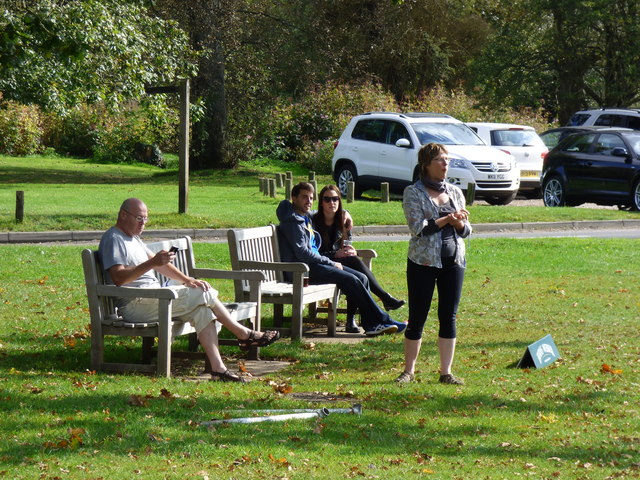 Tilford:  Spectators at the cricket match