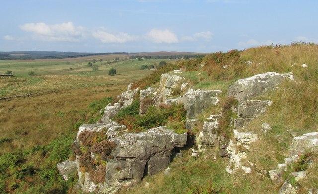 Shitlington crags.