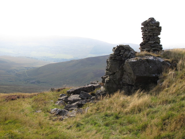 Currick on Brown Fell above Gairs (2)