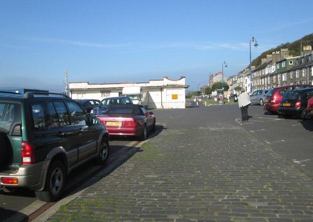 Car park near the pier
