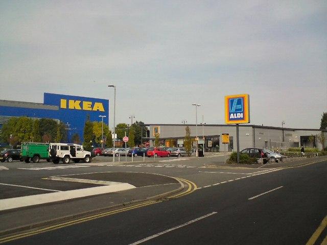 Aldi and Ikea