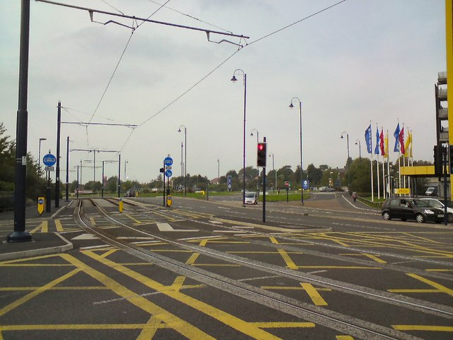 Tramlines out of Ashton