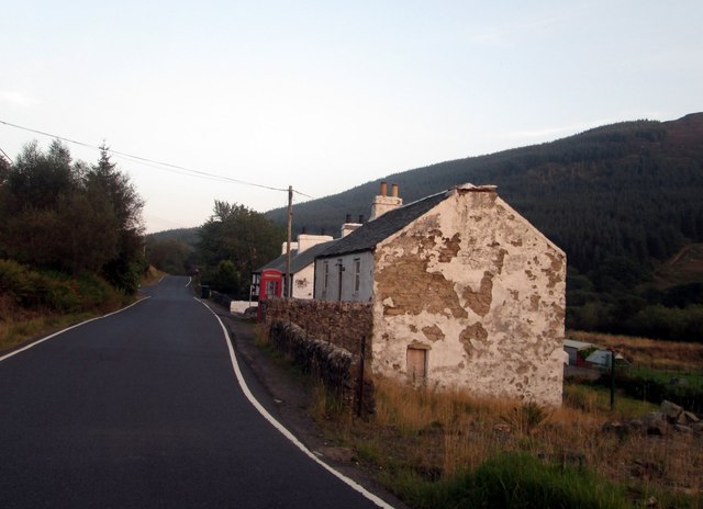 Clachaig below the hill of Coire Creagach