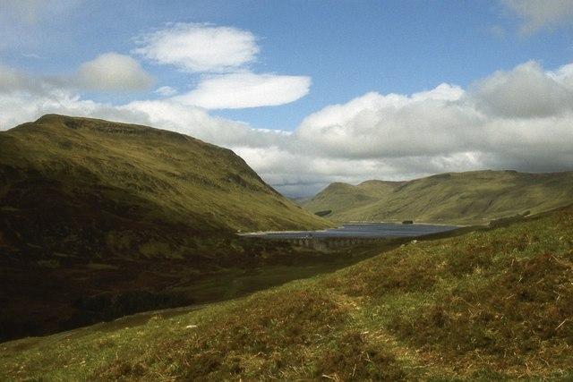 South slopes of Creagan nan Gobhar