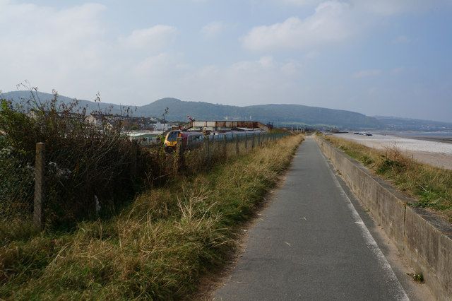 Wales  Coast Path at Pensarn