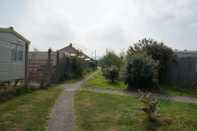 Path leading to Towyn Road