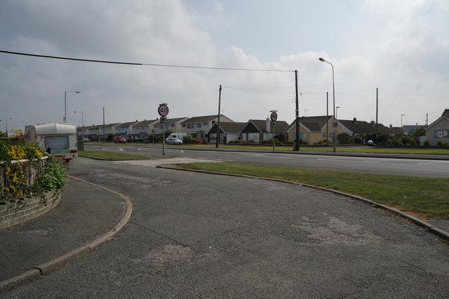 Houses on Towyn Road, Pensarn