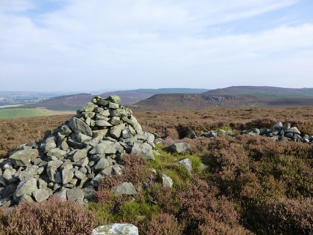 Cairn on Cartington Hill