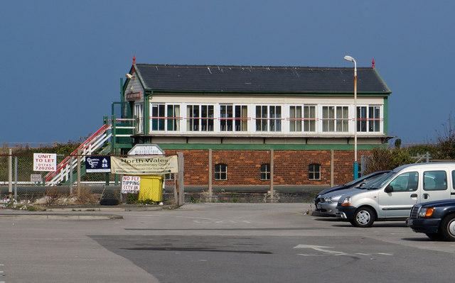 Abergele  Pensarn Signal Box, Pensarn