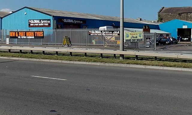 Global Tyres, Newport