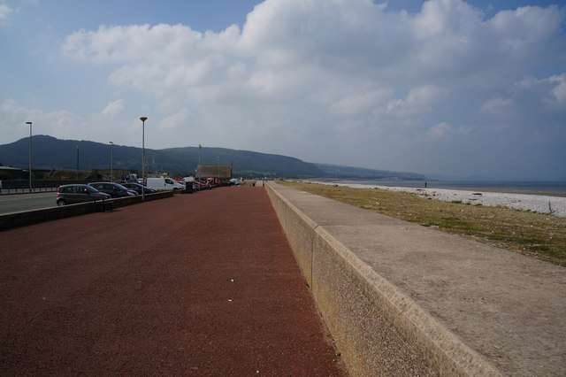 Wales  Coast Path at Pensarn