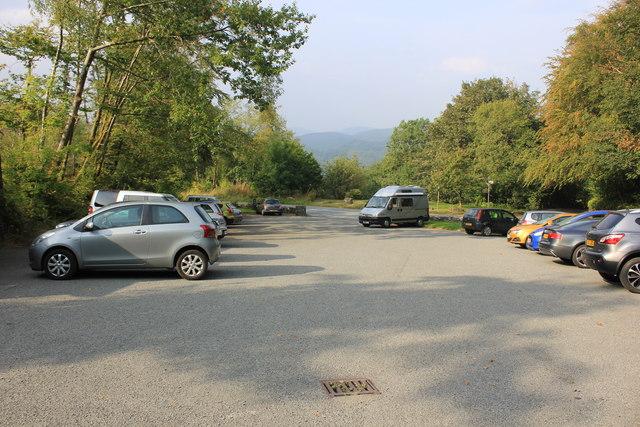 Saith Groesffordd Car Park