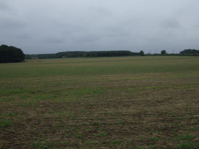 Farmland west of Scotter Road