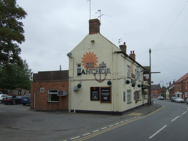 The Sun & Anchor pub, Scotter