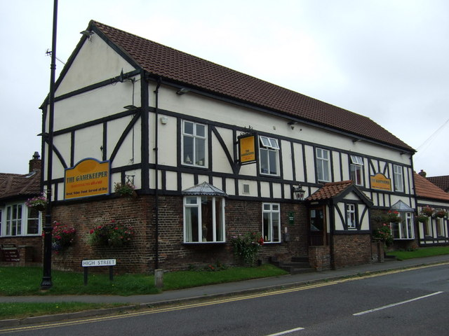 The Gamekeeper pub, Scotter