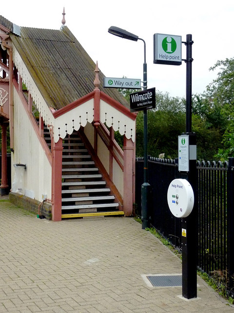 Wilmcote Station in Warwickshire
