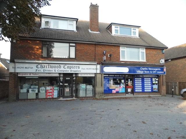 Shops on The Street, Charlwood