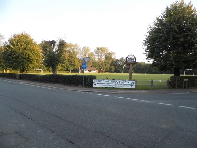 The village green at Charlwood