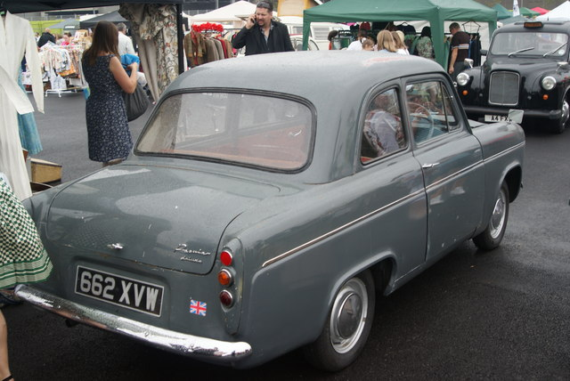 View of a Premier Padmini Deluxe in the Classic Car Boot Sale