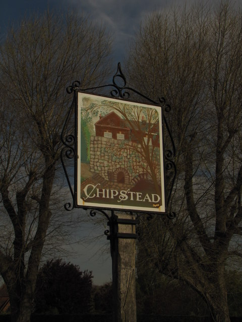 Chipstead town sign