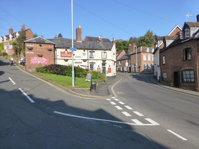 The Woodcolliers on Welch Gate, Bewdley