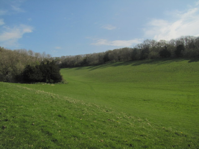 Base of the North Downs