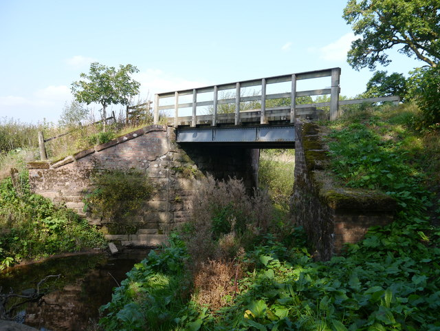 A Bridge Over The Auchentroig Burn