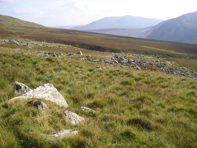 Moorland Above Glan llugwy