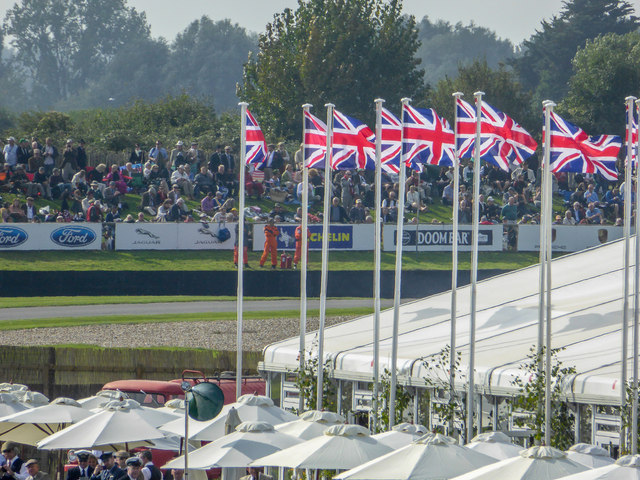 Goodwood Revival 2014 - Flying the Flag