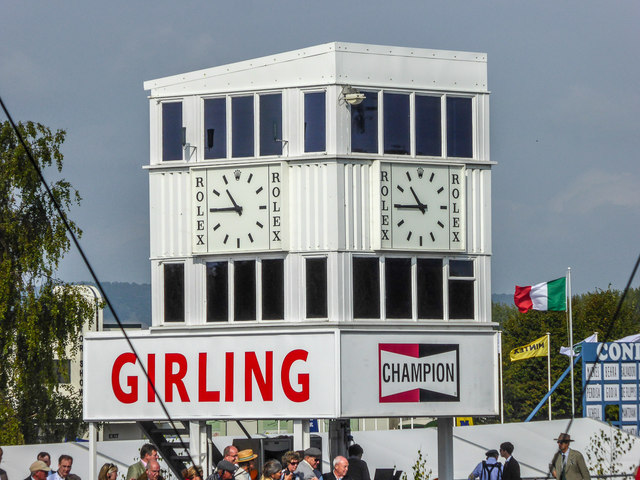 Goodwood Revival 2014 - The Clock Tower