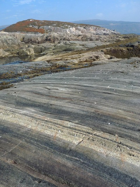Coastline at Rubha nam Bràithrean, Isle of Mull