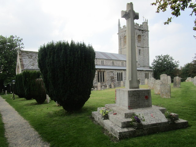 The church of St. John the Baptist, Bere Regis