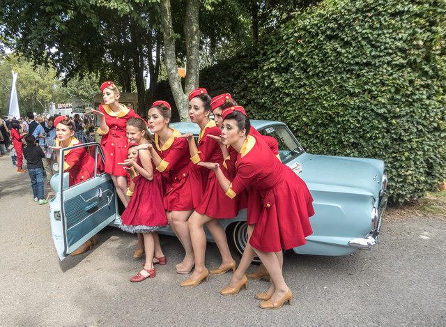 Goodwood Revival 2014 - Chalet Girls