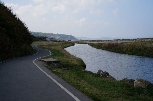 The River Dulas, Llanddulas