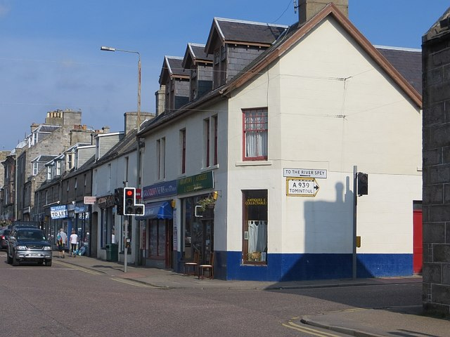 High Street and Spey Avenue