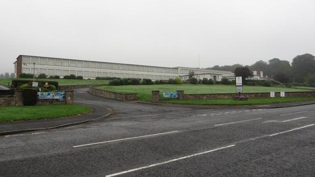 Former Berwickshire High School building, Duns