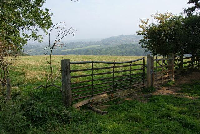 Gate above Eskdale